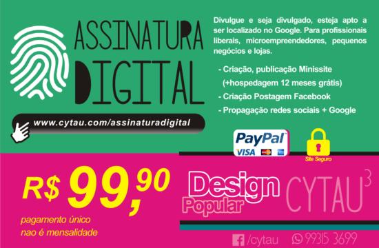 Assinatura Digital do Cytau