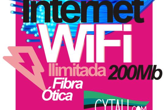 internet wifi ilimitada fibra ótica cytau parceria